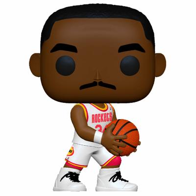 Figurine NBA Legends Funko POP! Hakeem Olajuwon Rockets Home 9cm