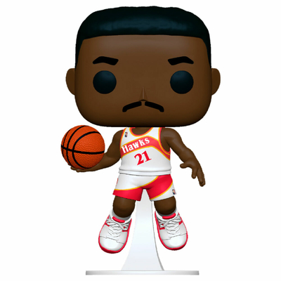 Figurine NBA Legends Funko POP! Dominique Wilkins Hawks Home 9cm