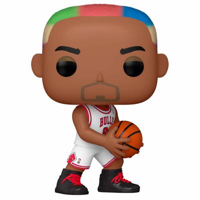 Figurine NBA Legends Funko POP! Dennis Rodman Bulls Home 9cm