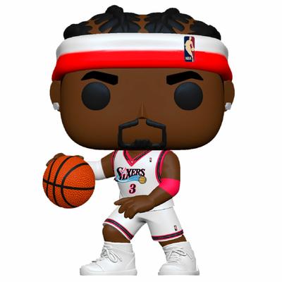 Figurine NBA Legends Funko POP! Allen Iverson Sixers Home 9cm