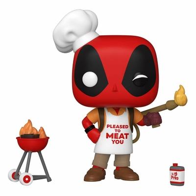 Figurine Marvel Deadpool 30th Anniversary Funko POP! Backyard Griller Deadpool 9cm