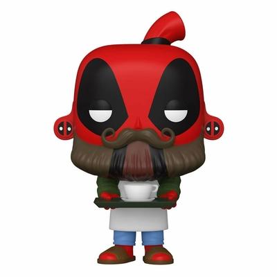 Figurine Marvel Deadpool 30th Anniversary Funko POP! Coffee Barista Deadpool 9cm