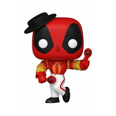 Figurine Marvel Deadpool 30th Anniversary Funko POP! Flamenco Deadpool 9cm