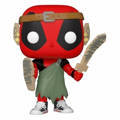 Figurine Marvel Deadpool 30th Anniversary Funko POP! Nerd Deadpool 9cm