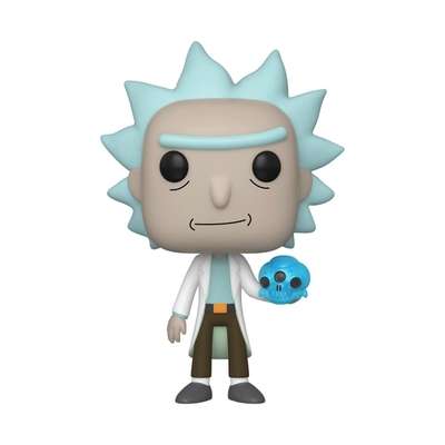 Figurine Rick et Morty Funko POP! Rick with Crystals 9cm