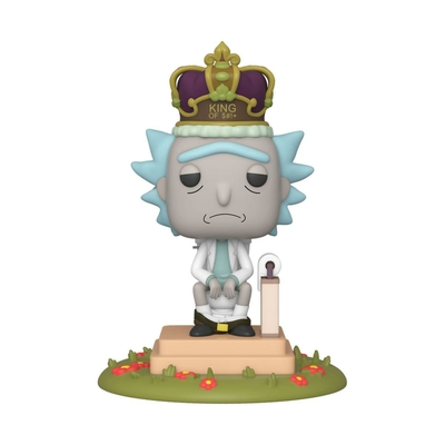 Figurine Rick et Morty Funko POP! Sonore Rick on Toilet 9cm