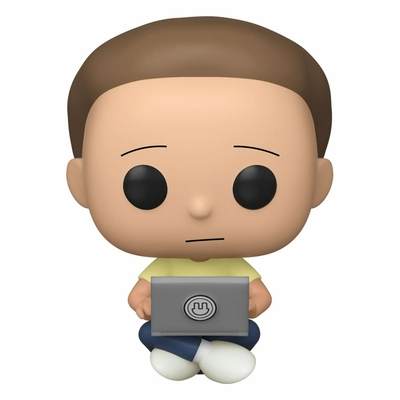 Figurine Rick & Morty Funko POP! Morty with Laptop 9cm
