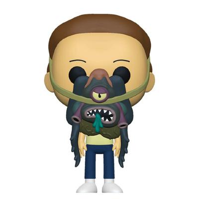 Figurine Rick & Morty Funko POP! Morty with Glorzo 9cm