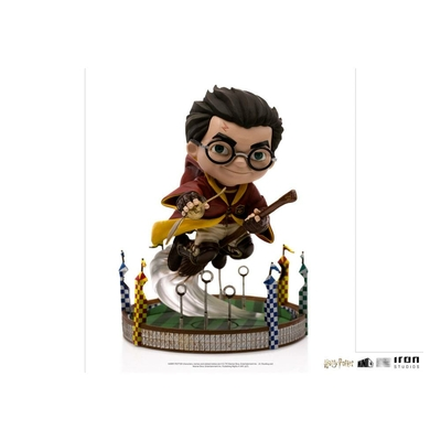 Figurine Harry Potter Mini Co. Illusion Harry Potter at the Quiddich Match 13cm