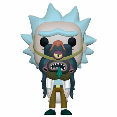 Figurine Rick & Morty Funko POP! Rick with Glorzo 9cm