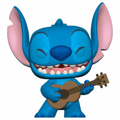 Figurine Lilo & Stitch Funko POP! Disney Stitch with Ukelele 9cm