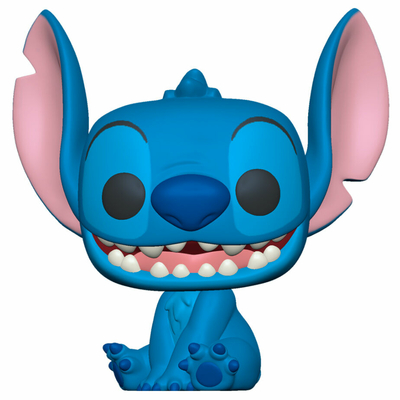 Figurine Lilo & Stitch Funko POP! Disney Smiling Seated Stitch 9cm