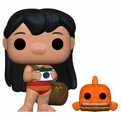 Figurine Lilo & Stitch Funko POP! Disney Lilo with Pudge 9cm