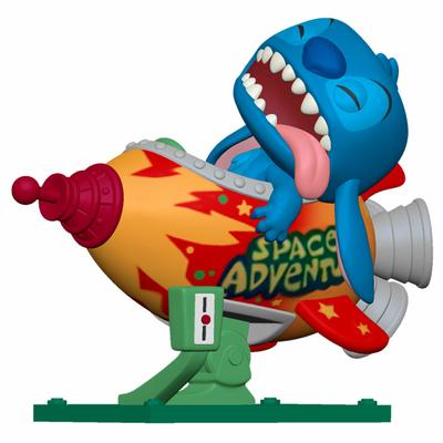 Figurine Lilo & Stitch Rides Funko POP! Stitch in Rocket 15cm