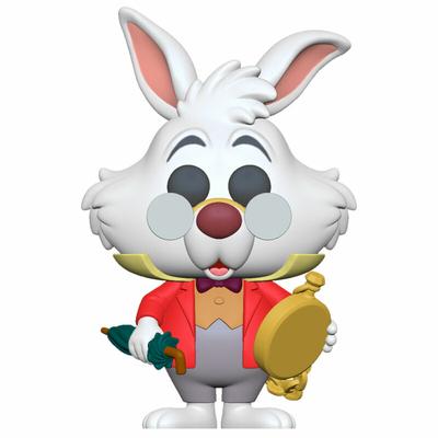 Figurine Alice au pays des merveilles Funko POP! Disney White Rabbit with Watch 9cm