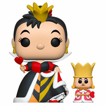 Figurine Alice au pays des merveilles Funko POP! Disney Queen with King 9cm