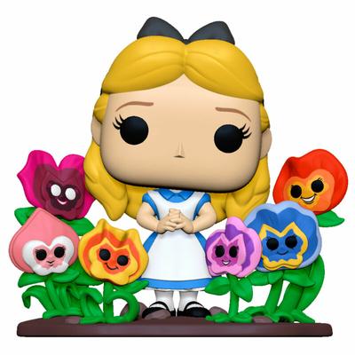 Figurine Alice au pays des merveilles Funko POP! Disney Deluxe Alice with Flowers 20cm