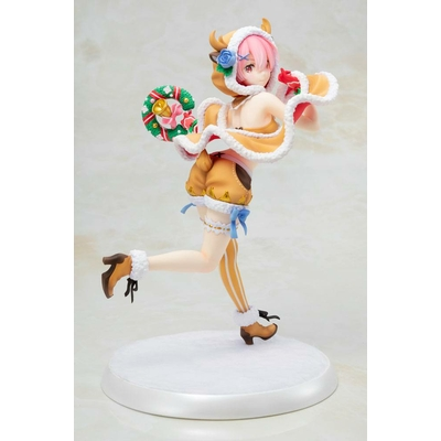 Statuette Re:ZERO Starting Life in Another World Ram Christmas Maid Ver. 23cm