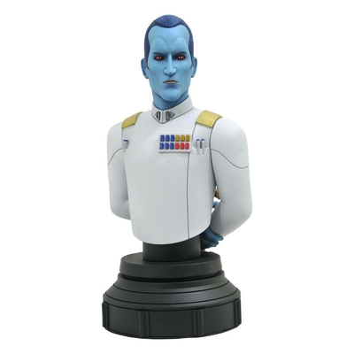 Buste Star Wars Rebels Grand Admiral Thrawn 15cm