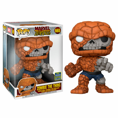 Figurine Marvel Zombies Funko POP! Zombie The Thing Exclusive 25cm