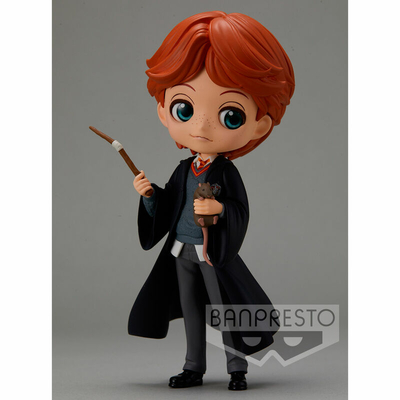 Figurine Harry Potter Q Posket Ron Weasley with Scabbers 14cm