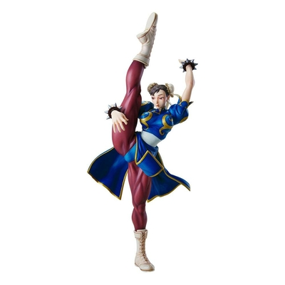 Statuette Street Fighter Capcom Figure Builder Creators Model Chun-Li 42cm