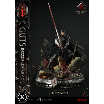 Statue Berserk Guts Berserker Armor Unleash Edition Deluxe Version 91cm