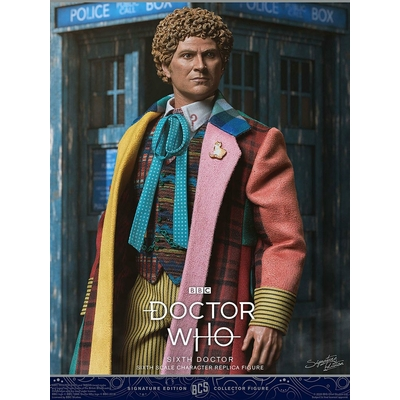 Figurine Doctor Who Collector Figure Series 6th Doctor Colin Baker Limited Edition 30cm