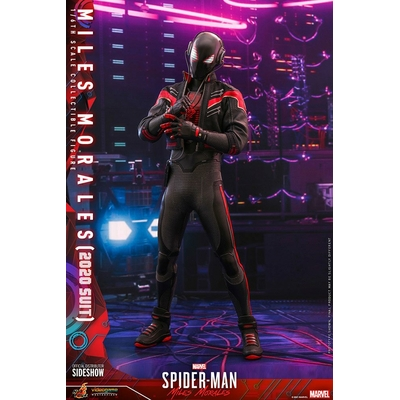 Figurine Marvel's Spider-Man Miles Morales Video Game Masterpiece Miles Morales 2020 Suit 30cm