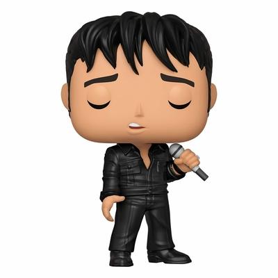 Figurine Elvis Presley Funko POP! Rocks Elvis '68 Comeback Special 9cm