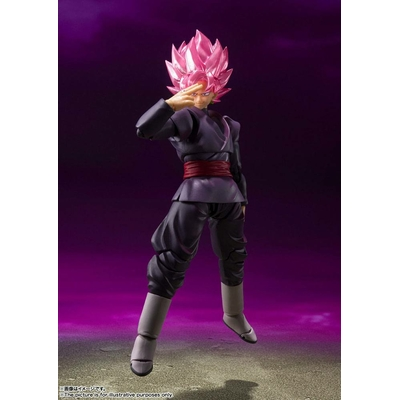 Figurine Dragon Ball Super S.H. Figuarts Goku Black Super Saiyan Rose 14cm