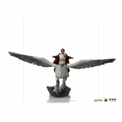 Statuette Harry Potter Deluxe Art Scale Harry Potter and Buckbeak 30cm