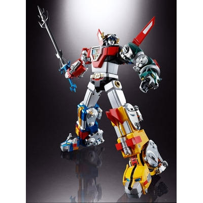 Figurine Voltron Defender of the Universe Diecast Soul of Chogokin GX-71 Voltron 27cm