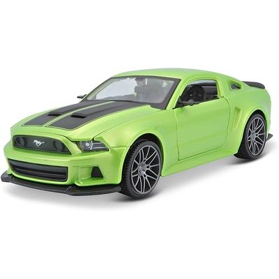 Ford Mustang Street Racer Métallique Vert Clair 2014 Maisto 1/24