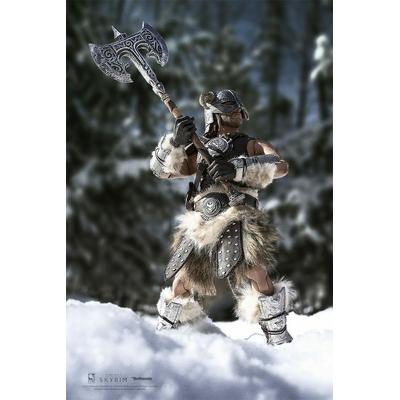 Figurine The Elder Scrolls V Skyrim Dragonborn Deluxe Edition 32cm