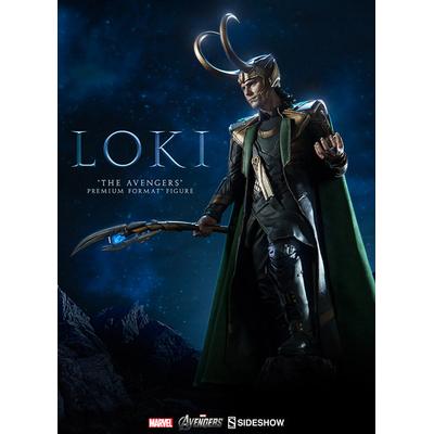Statuette Marvel The Avengers Premium Format Loki 60cm