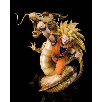 Statuette Dragon Ball Z Figuarts ZERO Extra Battle Super Saiyan 3 Son Goku 21cm