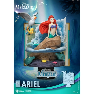 Diorama Disney D-Stage Story Book Series Ariel New Version 15cm