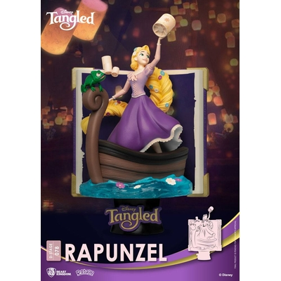 Diorama Disney D-Stage Story Book Series Rapunzel New Version 15cm