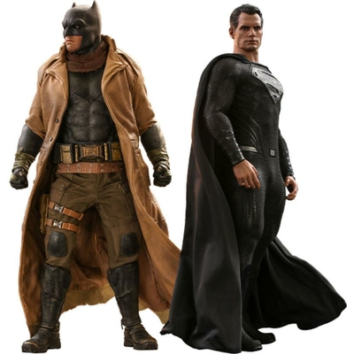 Pack 2 figurines Zack Snyder's Justice League Knightmare Batman and Superman 31cm