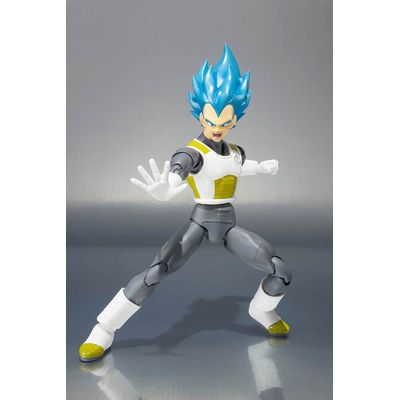 Figurine Dragon Ball Z S.H. Figuarts Vegeta Super Saiyan God 15cm