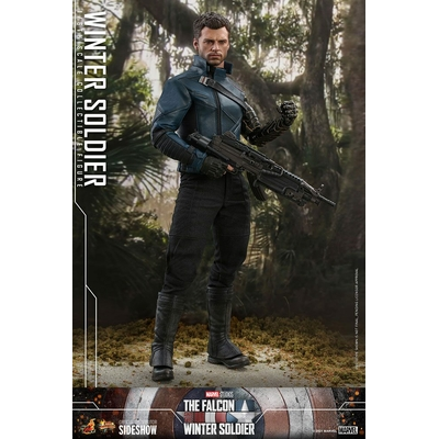 Figurine The Falcon and The Winter Soldier - Winter Soldier 30cm