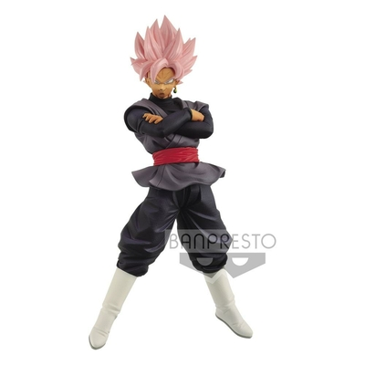 Statuette Dragon Ball Super Chosenshiretsuden Super Saiyan Rosé Goku Black 16cm