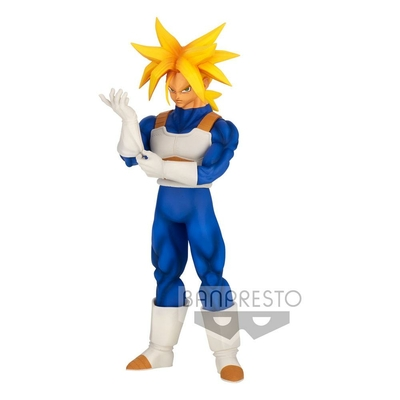 Statuette Dragon Ball Z Solid Edge Works Super Saiyan Trunks 23cm