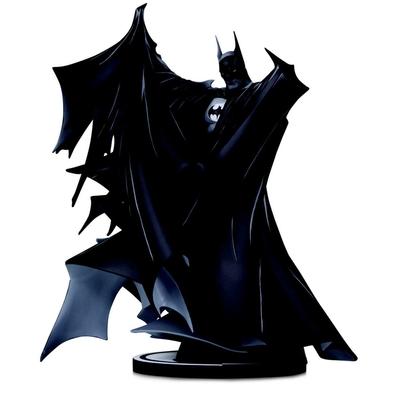 Statuette Batman Black & White Deluxe Batman by Todd McFarlane 24cm
