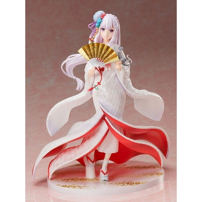 Statuette Re ZERO Starting Life in Another World Emilia Shiromuku 25cm