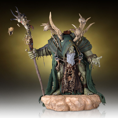 Statuette Warcraft The Beginning Gul'Dan 46cm