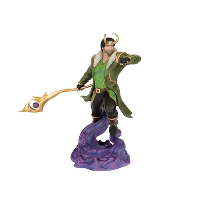 Statuette Marvel Contest Of Champions Video Game Loki 20cm