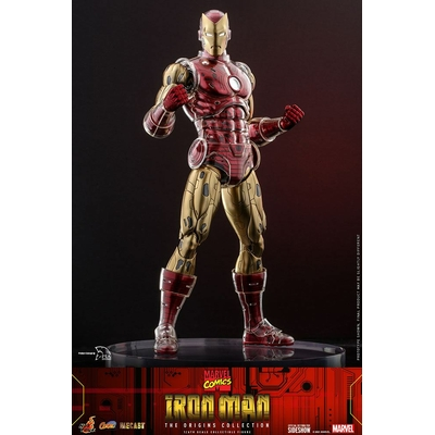 Figurine Marvel The Origins Collection Comic Masterpiece Iron Man 33cm