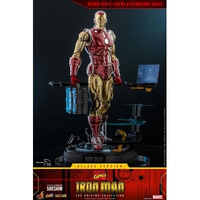 Figurine Marvel The Origins Collection Comic Masterpiece Iron Man Deluxe Version 33cm